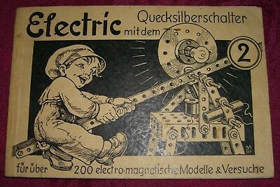 altes Electric-Anleitungsheft Nr. 2 für den Electric-Baukasten