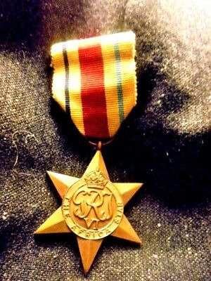 Full Size Original 1939 - 1945 Africa Star Medal  From House Clearance