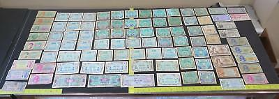Military Payment Certificates Usa France Japan Germany Italy Banknote Collection