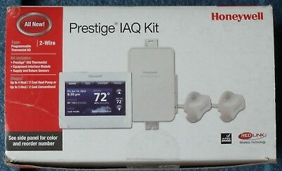 Honeywell YTHX9421R5085WW Prestige IAQ Touchscreen Smart Wireless Thermostat Kit