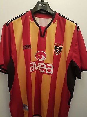 2004-2005 Vintage Galatasaray Football shirt, Soccer Jersey, Umbro, Trikot