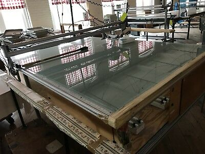 "Maimin Minisphere - cutter on CNC 60"" wide x 14"" long spreader table"