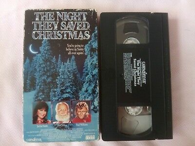 The Night They Saved Christmas (VHS, 1995) ACC