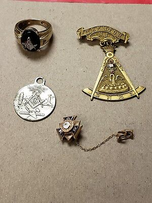 Masonic Vintage Items