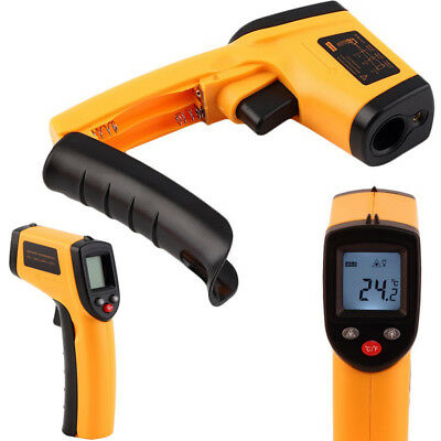 Non-Contact LCD IR Laser Infrared Digital Thermometer Temperature Gun -50~330°C