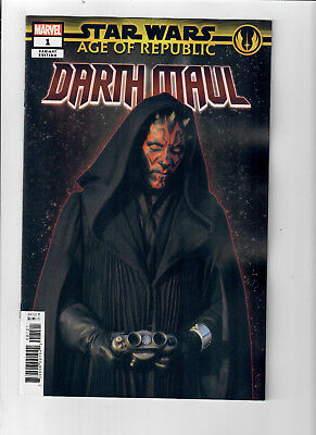 Star Wars Age of Republic Darth Maul 1C 2019 McKone VF Stock Image