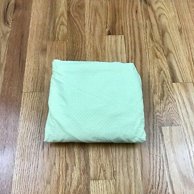Amy Coe Mod Fitted Crib Sheet Limited Edition Mint Green Polka Dot Mix Match AC