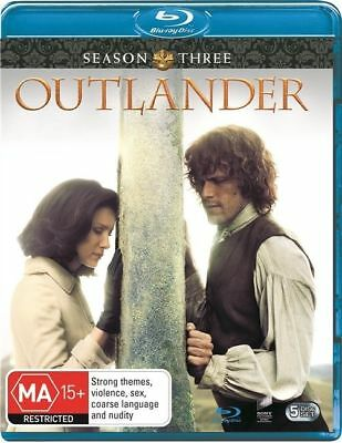 Outlander : Season 3 (Blu-ray, 2018, 5-Disc Set) BRAND NEW