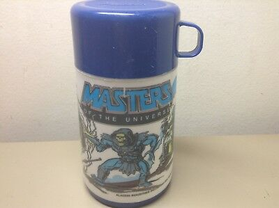 Vintage MASTERS OF THE UNIVERSE Lunchbox THERMOS ONLY HE-MAN ALADDIN 1983
