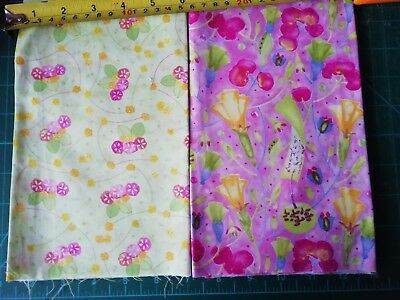 2009 In The Beginning Japanese coordinating patchwork fabric pieces quilting