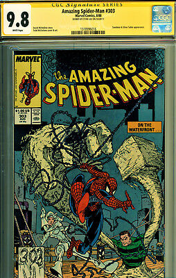 Amazing Spider-Man #303 Cgc 9.8 Ss Signed By Stan Lee-Todd Mcfarlane Art!