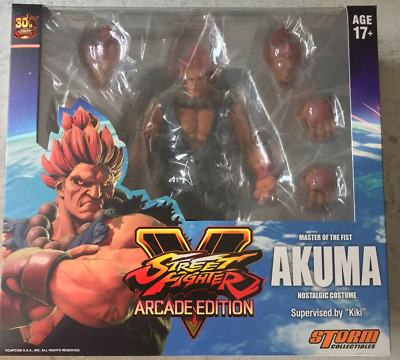 Storm Collectibles Street Fighter V Akuma Arcade Edition Action Figure