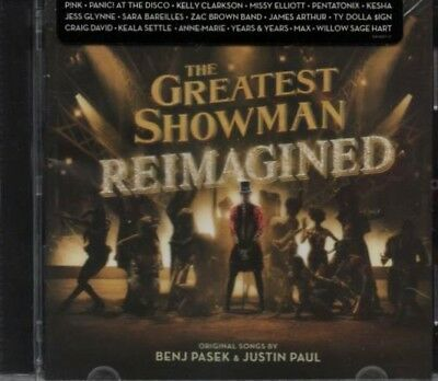 The Greatest Showman Reimagined  With Bonus Songs CD New USA Free Shipping