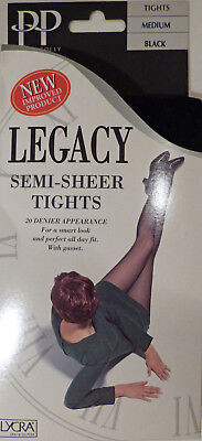 Pretty Polly Medium Size Semi-Sheer 20 Denier Tights from the Legacy range