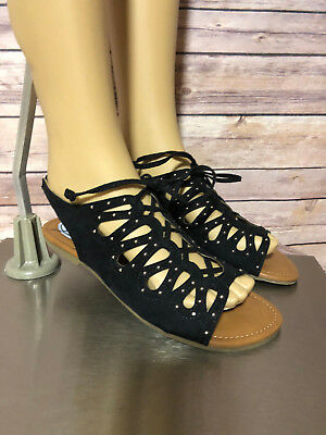 35dd51bd8719 STEVIES BROWN GLADIATOR Sandals Size 4 Youth Girls -  8.79