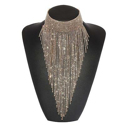 Holylove 3 Colors Tassel Collar Statement Necklace for Women Novelty Fashion Jew