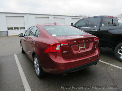 2012 Volvo S60 AWD 4dr Sedan T6 AWD 4dr Sedan T6 Automatic Gasoline 3.0L STRAIGHT 6 Cyl MAROON