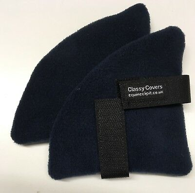 NAVY Fleece & NAVY Fleece Backing Riding Hat Ear Warmers. Ideal Gifts 🎁