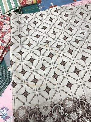 7 Pieces Of Vintage Fabric