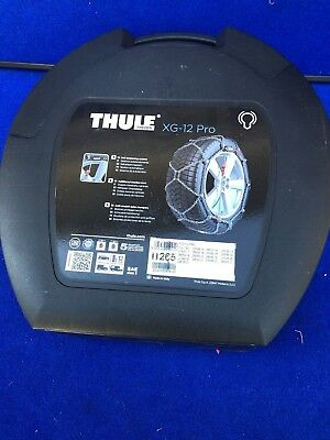 Nice Clean Thule Tire Chains XG-12 Pro 265 (Never Used)