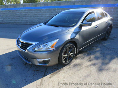 2014 Nissan Altima 4dr Sedan I4 2.5 SV 4dr Sedan I4 2.5 SV CVT Gasoline 2.5L 4 Cyl Gun Metallic