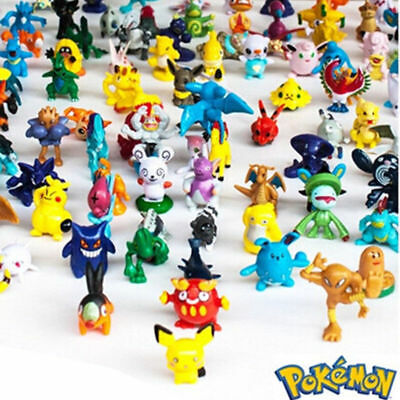 24pcs Pikachu Pokemon Mini 2-3cm Action Figures Random Doll Children Gift Toy J6