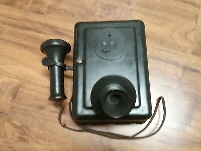 1920 Western Electric Wall Telephone CandleStick  Antique Vintage serial # 553 A