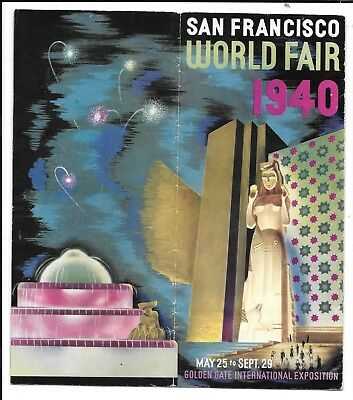 1940 Ggie California's Fair In 40 - 10 Pages About California.