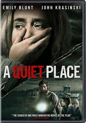 A Quiet Place (Dvd, 2018) - Brand New Sealed Official Studio Release!