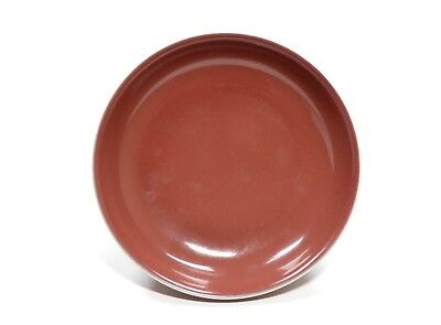 A Chinese Copper-Red Porcelain Dish