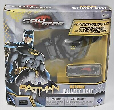 Spy Gear Batman Utility Belt With Motion Alarm Brand NEW Sealed Spin Master