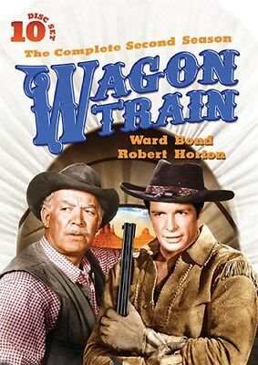 WAGON TRAIN COMPLETE SECOND SEASON 2 Sealed New 10 DVD Set