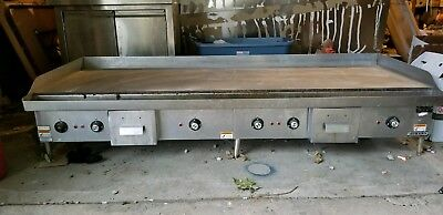 6' Commercial Flat Top Grill
