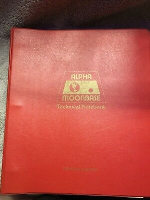 Moonbase Alpha Technical Notebook first printing 1977