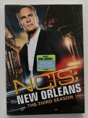 NCIS: New Orleans: The Complete Third Season 3 (DVD,2017,6-Disc Set)