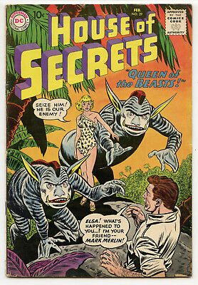 JERRY WEIST ESTATE: HOUSE OF SECRETS #29 (DC 1960) VG condition NO RES