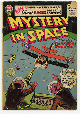 Jerry Weist Estate: Mystery In Space #33 (Dc 1956) No Res