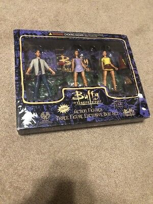 Buffy the Vampire Slayer Action Figures 3 Pack - Includes Cheerleader Cordella,