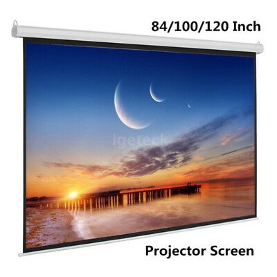 Multimedia theater screen 84/100/120 inch 16:9 folding projection screen