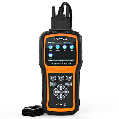 Foxwell NT630 Elite ABS Airbag SAS Reset OBD2 Code Reader Scanner Diagnostic