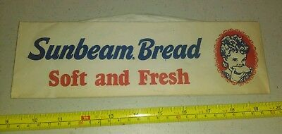 Vintage Sunbeam Bread Advertising Disposable Worker's Hat Rare