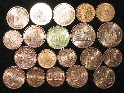 Mixed EURO ~ 20 Coins ~ ALL DIFFERENT ~ World Collection ~ LOT 69