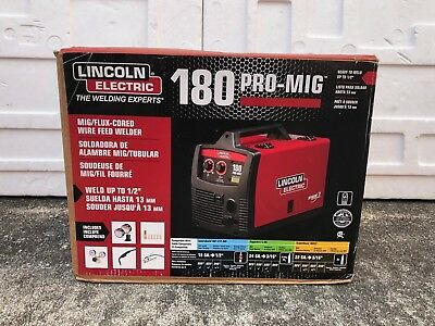 """Lincoln Electric Pro MIG 180 Wire Feed Welder K2481-1 """"Brand New"""""""