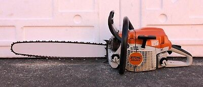 "STIHL MS261C Gas Powered Chainsaw 20"" Bar And Chain - Great Shape - ""No Reserve"""