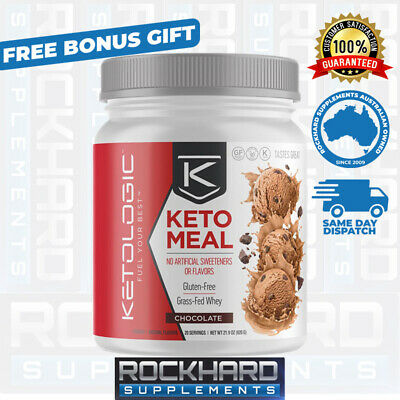KetoLogic Keto Meal Replacement Ketogenic Diet Powder Weight Loss Ketosis