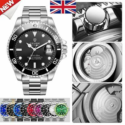 TEVISE T801 Men Automatic-Mechanical Watch Waterproof Luminous Sport Watch Lm
