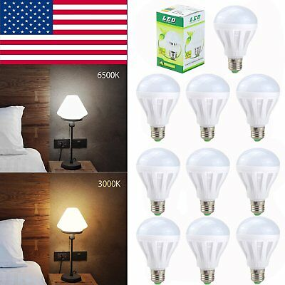 30W 75W Equivalent LED Bulb Light E26 E27 3W 9W Cool Soft White Lamp 1-20 Pack