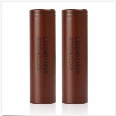 2x LG  18650 HG2 Rechargeable High Drain Li-ion Battery 3000mAh Flat Top Vape