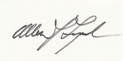 Allan Lynch Vietnam Medal of Honor MOH signed CARD AUTOGRAPHED