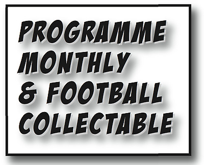 New Issue 454 - January 2019  Programme Monthly & Football Collectable Magazine